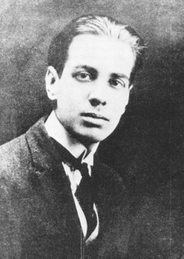 1921. Jorge Luis Borges, age 22