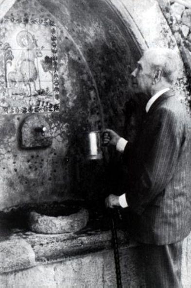 Jorge Luis Borges in Mallorca, 1983