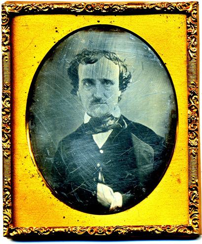 Edgar Allan Poe photographed circa 1849