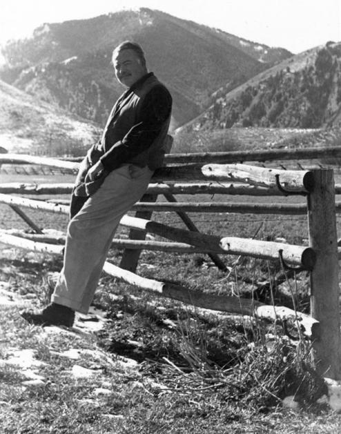 Ernest Hemingway in Idaho