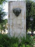 Monument devoted to Joaquín Rodrigo in Aranjuez