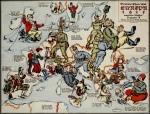 Satirical Maps of Europe, 1915