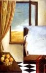 George Pkhakadze Escape - Painting Acrylic, 1999