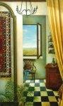 George Pkhakadze, RETURN TO HOME, Painting Acrylic, 1999
