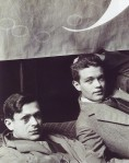 Man Ray, Tristan Tzara and Rene Crevel, 1928