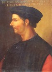 Niccolo Machiavelli by Cristofano dell' Altissimo