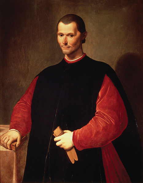 Portrait of Niccolò Machiavelli by Santi di Tito