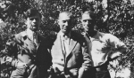 Tristan Tzara, Jean Arp and Max Ernst in 1921