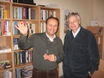 Paata Sheshelidze,  Hans Herman Hoppe. New Economic School - Georgia