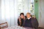 სილოვან ნარიმანიძე ქალიშვილთან ერთად
