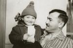 სილოვან ნარიმანიძე ქალიშვილთან ნანასთან ერთად