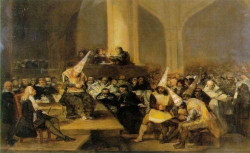 """""""ინკვიზიცია"""" ფრანცისკო გოია, 1812 წ."""