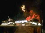 Paul Writing His Epistles, 17th century