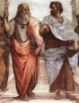 Plato and Aristotle. Raphael - The School of Athens (1510-1511)