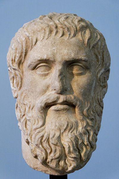 Plato - portrait bust by Silanion. Musei Capitolini