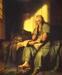 Rembrandt's The Apostle Paul in Prison